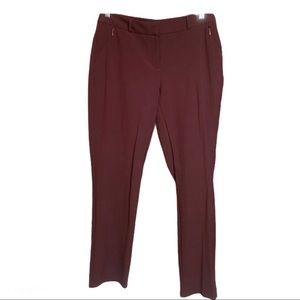 🔥 Reitmans Dress Pants Burgandy 8P